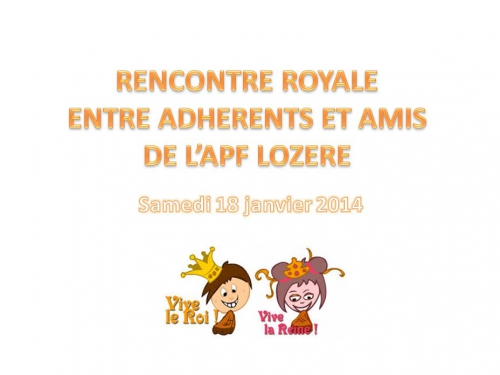 Rencontre royale APF